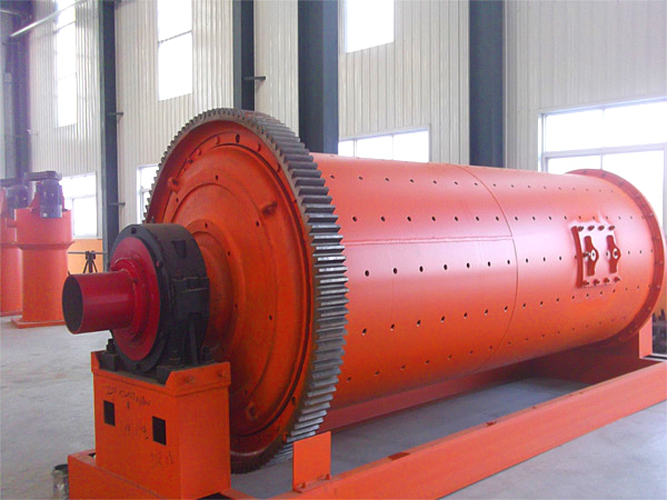Wet grid ball mill